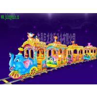 轨道观光小火车、大象头小火车游乐设备许昌巨龙游乐