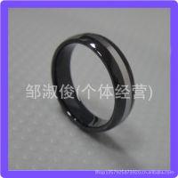 低价批发 个性黑色钨钢戒指 热卖