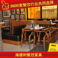 超值低价 优惠人造石餐台 大理石桌子 厂家生产供应 深圳海德利家具 专业餐饮家具定制