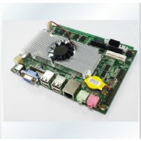 供应3.5寸D525主板,无风扇平板电脑,上架式多U工控机电脑,工业计算机,触控工业平板电脑