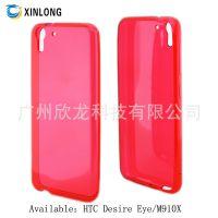 工厂生产 清水套 HTC M910X 手机壳 欧美热销 TPU  保护套 直销中