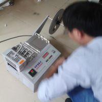 电动 自动热剪切机圆橡筋绳、江苏PP织绳裁断机、棉织绳松紧绳热切机