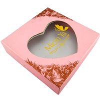 高档丝巾包装盒定做 心形书型彩盒