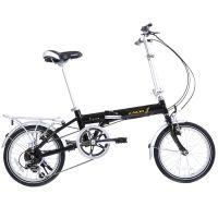 供应ENDA恩达铝合金折叠自行车6速16寸V刹铝合金车架翔云A16.B