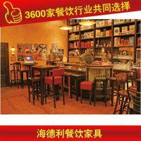 欧式咖啡厅餐桌椅组合 实木餐桌椅 厂家供应 优质实惠