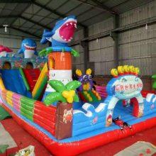 心悦游乐室外儿童大型充气滑梯蹦蹦床 充气城堡玩具跳跳床 喜洋洋灰太狼熊出没海底世界