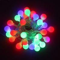 LED球泡灯串 珠泡防水灯串 婚庆灯饰 圣诞节灯饰 闪灯 雪花球灯串 圣诞节彩灯 满天星