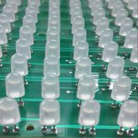 北京LED显示屏P10户外单白防水电子滚动走字屏/单元板