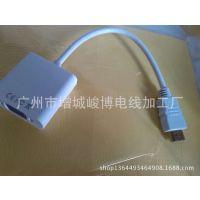 """供应厂家直销 HDMI to VGA转接器 """"教育系统""""工程专用线 网络线"""