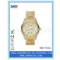 厂家供应热销款式眼镜胶手表 高档时尚商务赠品