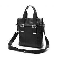 热销韩版时尚男士商务户外旅行包手提单肩斜挎包 电脑包PU包批发