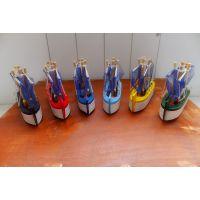 zakka杂货|拍摄道具|6色木质小渔船模型|帆船| 摆件促销 海洋工艺