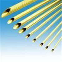 供应湖南H65黄铜毛细管;6*1mm黄铜毛细管批发价格