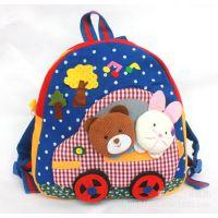 厂家批发韩版幼儿园宝宝书包儿童书包双肩包男女款动物卡通小背包
