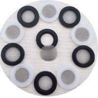 YF廣東食品級過濾網墊片4分硅膠包邊濾網
