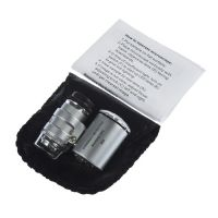 供应Datyson 60倍手持式袖珍带验钞和LED灯 NO.9882英文版