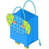 童装袋子 可爱卡通手提袋定做 大中小号通用纸袋