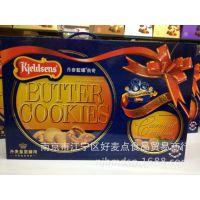 原装*** 丹麦Kieldsens蓝罐曲奇饼干908g*6盒/箱 皇室御用礼盒装