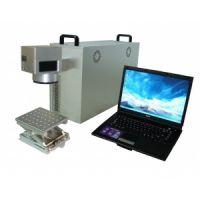 超牛B的模具雕刻机便携式光纤激光打标机刻字机 厂家直销 金属雕刻机 10W光纤激光打码机