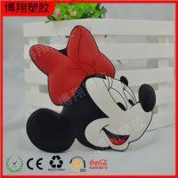 日本迪斯尼经典卡通形象米老鼠头部软磁贴冰箱贴 创意家居装饰