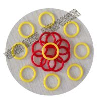 廠家供應日標耐高溫透明硅膠O型圈線徑1.5mm美標O型圈國標橡膠圈非標防水圈