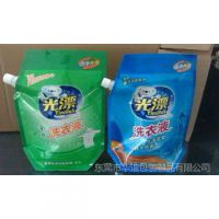 工厂供应 东莞2KG吸嘴袋 复合包装袋 8色印刷洗衣液袋 价格合理