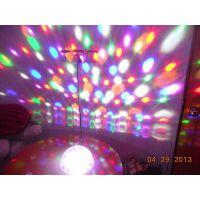 led声控6色水晶魔球激光灯酒吧ktv射灯包房舞台灯光 新款灯具