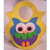 批发EVA卡通包包EVA儿童手工制作幼儿园玩具DIY材料立体粘贴画
