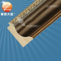 相框线条 木质 实木画框定制 镜框线条批发 上海厂家直销5595G-2