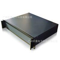 2U350LT高档铝面板机箱2U超短机架式服务器机箱软路由防火墙2U350LT