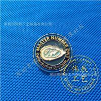 工商银行徽章,各大银行胸牌,纯银胸章,找做金属徽章厂集团司徽厂