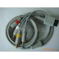 厂家直销:WII  S+AV信号线1.8米镀金