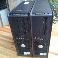 原装二手戴尔DELL GX745台式电脑双核小主机