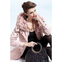歌瑞丝芬羽绒服 深圳欧朵拉品牌折扣女装批发走份 时尚羽绒服 百搭款式