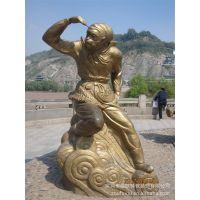 玻璃钢美猴王雕塑 人体艺术雕塑 大型不锈钢雕塑 欢迎来图定制