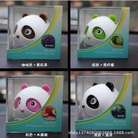 熊猫汽车香水功夫熊猫芳香剂 车用固体香膏 车载香水 多味