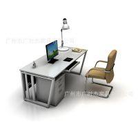 时尚办公家具 新款简易办公桌 电脑桌 厂家直销 广州办公家具