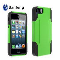 新品促销 ***iPhone5硅胶防滑手机壳 苹果5g多功能保护外壳 潮