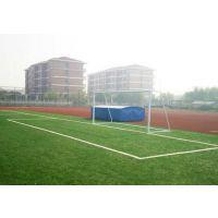 供应足球场地人工草坪施工,人工草皮足球场铺设