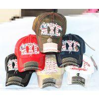 2015春季新款Hard Caps欧美风男女士棒球帽NYC刺绣贴布时尚帽子