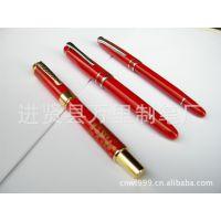 万里制笔供应2012款中国红陶瓷笔 陶瓷宝珠笔 真陶瓷笔钢笔