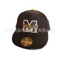 帽子批发加工定做嘻哈帽棒球帽韩版时尚特价平沿帽潮人棒球鸭舌帽