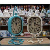 客厅静音创意挂表 铁艺田园欧式艺术时尚个性大壁钟挂钟 新款闹钟