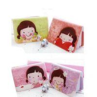 229韩国热卖 饼干女孩可爱妞子卡包卡夹12卡位卡册 银行卡包卡套