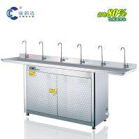 供应简阳中学校园专用带过滤净水器开水机超强节能不锈钢开水机