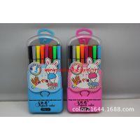店长推荐:958-24色高质量可洗水彩笔【72盒起批,网店超市供货】