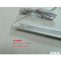 感应橱柜灯 衣柜灯 超薄嵌入式条形灯 工厂特价促销