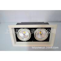 【厂家直销 】专业供应现代简约嵌入式灯具LED双头豆胆灯上海灯具