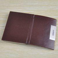 广州厂家定制男士真皮名片包牛皮商务名片夹大容量卡片包加印LOGO