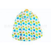 婴儿斗蓬外套披肩 加厚斗蓬批发 秋冬服装 0-3岁婴儿幼儿双层披风